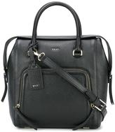 DKNY zip pocket tote - women - Calf Leather - One Size