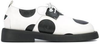 Marsèll Polka Dot Oxford Shoes