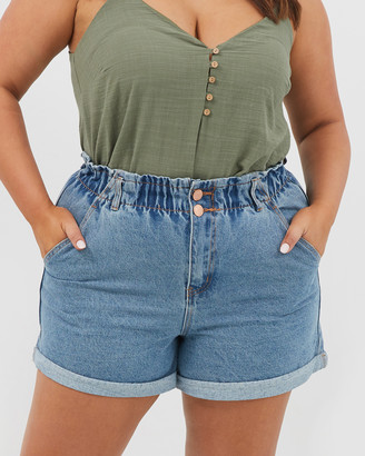 You & All 2 Button Paperbag Shorts