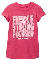 New Balance Short Sleeve Graphic Tee (Little Girls & Big Girls)