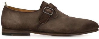 Officine Creative Distressed Monk Shoes