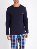 HUGO BOSS Crewneck jersey pyjama top