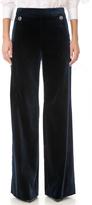 Temperley London Opus Velvet Button Trousers