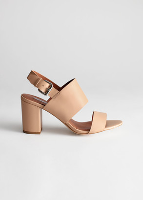 And other stories Slingback Leather Sandals