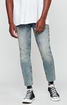 PacSun Skinny Cropped Light Indigo Jeans