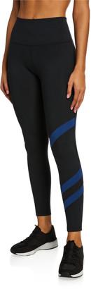 Lukka Lux Striped 7/8 Performance Leggings
