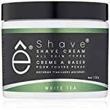 eShave Shave Cream, White Tea, 4 oz.
