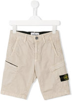 Stone Island Junior - bermuda shorts - kids - Cotton/Spandex/Elastane - 6 yrs