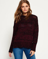 Superdry Twist Tape Funnel Neck Sweater