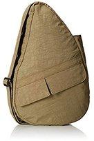 AmeriBag Small Distressed Nylon Healthy Back Bag