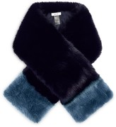 Reiss Irving Color Block Scarf