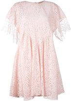No.21 lace dress - women - Cotton/Acetate/Silk/Polyamide - 40