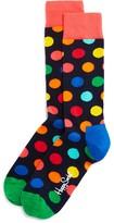 Happy Socks Men's Bright Big Dot Socks