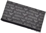 Giorgio Armani Jeans Logo Scarf Navy