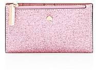 Kate Spade Women's Small Burgess Glitter Leather Bi-Fold Wallet