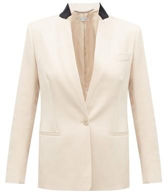 Stella McCartney Single-breasted Wool-twill Jacket - Light Beige