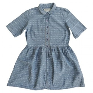 Jack Wills Blue Cotton Dress for Women