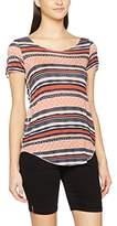 Vero Moda Women's Vmlua Ana Ss Top Box Dnm T-Shirt,(Manufacturer Size: Large)