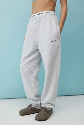 Iets Frans... iets frans. Grey Marl Joggers - Grey XS at Urban Outfitters