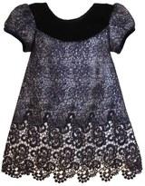 Isabel Garreton Floral & Mesh A-Line Dress (Baby Girls)