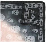 Alexander McQueen Skull faded scarf