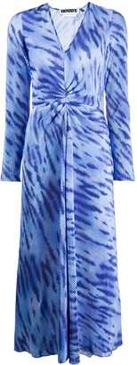 Rotate by Birger Christensen Tie-Dye Print Dress