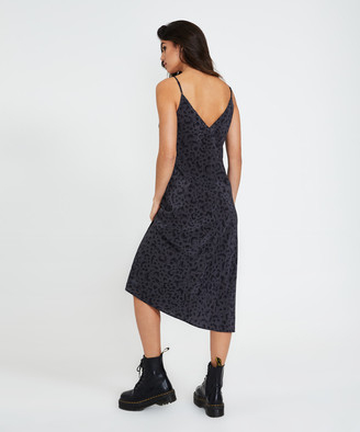 Ksubi Arkanum Slip Maxi Dress Black