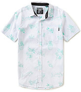 O'Neill Big Boys 8-20 Aloha Tropical Print Short-Sleeve Woven Shirt