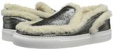 MM6 MAISON MARGIELA Shearling Trim Sneaker Women's Shoes