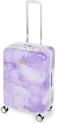 """Bebe 25"""" Purple Lilah Upright Spinner"""