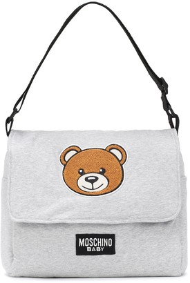 MOSCHINO BAMBINO Cotton-jersey changing bag