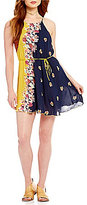 Free People Its A Cinch Printed Dress