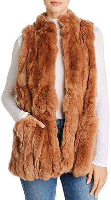 525 America Real Rex Rabbit Fur Vest