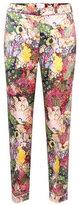 Erdem Giulia floral-printed silk trousers