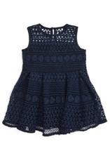 Toddler Girl's Bardot Junior Linear Lace Dress
