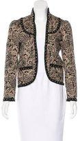 Saint Laurent Stud-Embellished Paisley Jacket