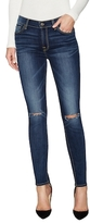 7 For All Mankind Gwenevere Cotton Slight Fade Ankle Jean