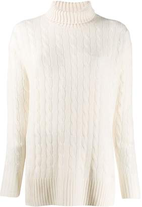 Polo Ralph Lauren oversized roll-neck sweater