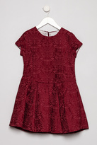 Torres Red Jacquard Dress
