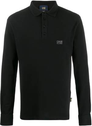 Class Roberto Cavalli long sleeve polo shirt