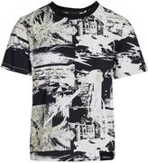 3.1 Phillip Lim Allover Print Stretch-Cotton T-Shirt