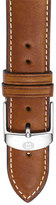 Michele Women's 20Mm Extra Long Leather Watch Strap