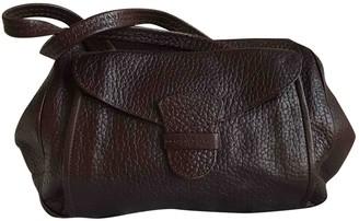 Prada Burgundy Leather Handbags