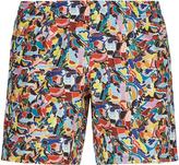 Sunlight Mosaic Print Swim Shorts