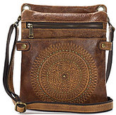 Patricia Nash Distressed Vintage Collection Francesca Sling Cross-Body Bag