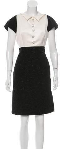 Chanel Velvet Evening Dress