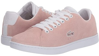 Lacoste Carnaby Evo 120 5 (Natural/White) Women's Shoes