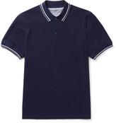 Brunello Cucinelli - Slim-fit Contrast-tipped Cotton-piqué Polo Shirt