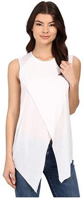 LAmade Ero Muscle Tee (White) Women's Blouse