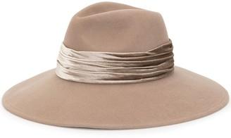 Eugenia Kim Draped Band Felt Hat